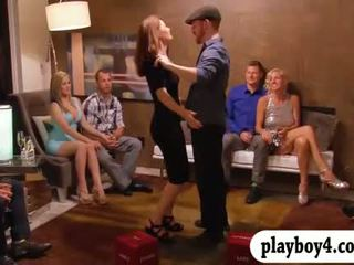 Couples enjoying the life of swinging and nasty games