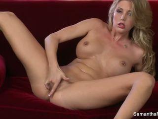 Super Hot Samantha Saint Fingers Her Pussy: Free HD Porn e8