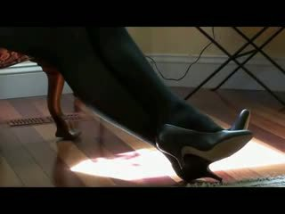 She Tease In Tights
