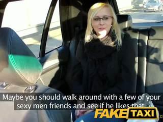 Faketaxi sexy i ri bjonde në payback hakmarrje