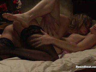Making Sensual Lesbian Love with Slaves, Porn ca