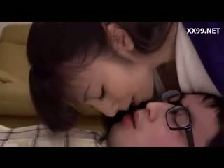 brunette, real japanese rated, more kissing see