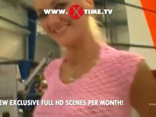 Zenza Raggi fuch her young Teeny! on xtime.tv