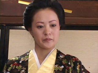brunette, oral sex, japanese, kissing