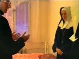 Priest and two nuns