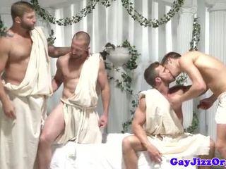kwaliteit assfucking alle, vol homo- plezier, zien spier