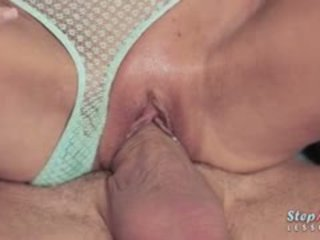 Cutie Teen Gina Gerson Crazy 3way Action With Sexy Stepmom