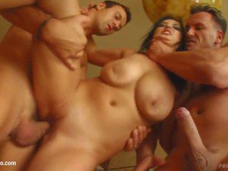 Big Boobs Jasmine B gets Her Tits Fucked Gonzo Style on