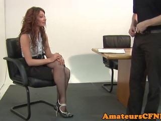 Pussylicked CFNM Femdom Babe Cockriding Sub: Free Porn 07