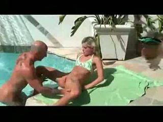 Courtney simpson gets bikini ripped off for deep dicking by