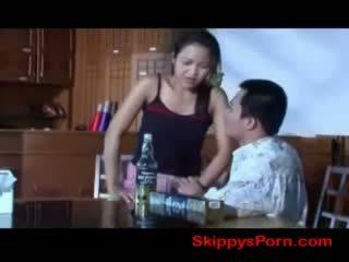 Тайська дівчина gets трахкав