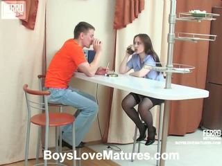 Judith Oscar Mom And Boy Action