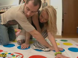 Sexy Blonde Plays Her Pussy In A Game And Gets A Good Fuck