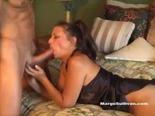 Milf romp - sin zasačeni mama margo sullivan v postelja
