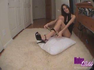 Haley wilde slaps neki szűk forró segg mint ő gets szar kemény doggy stílus