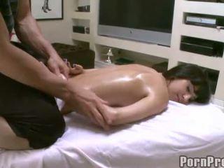 massage, geölt, massage ficken