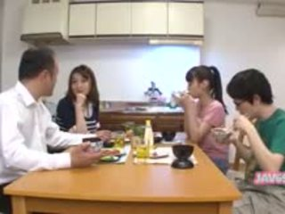 japonais, pipe, lécher, public