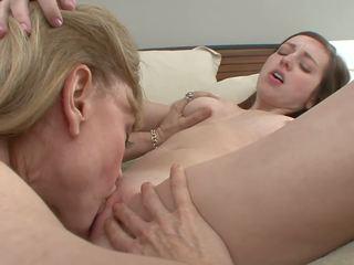 Nina and Sweet Babe Lesbian Action, Free Porn 52