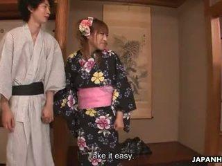 Niesamowite japońskie szmata gets double penetrated - yes.xxx 2