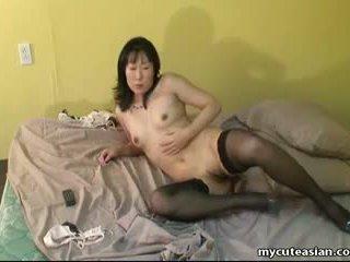 Ázsiai érett nő -ban lust fingers neki nedves punci: porn a7