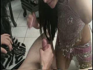 Smoking hot babe rides a big cock
