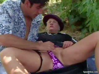 Granny Fucked Hard Outdoor, Free Real Granny Porn Porn Video