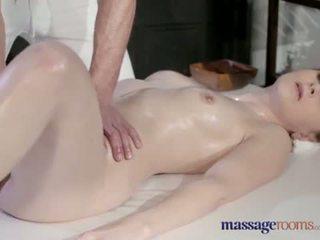 white skin milk squirt on a intense massage