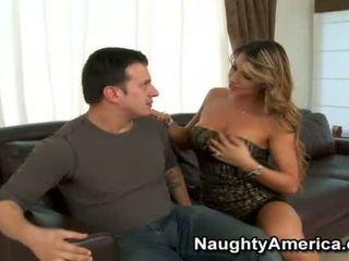 Fat Joystick Penetrates Porno Star Esperanza Gomez