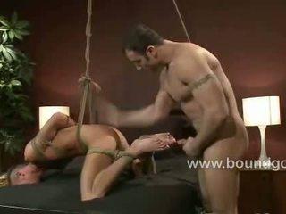 Spencer Reed fucks Jake Woods in bondage