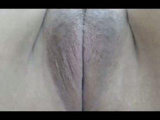 brunette, tieners, kaukasisch, vaginale masturbatie