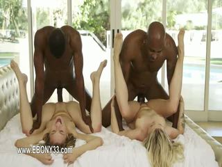 Luxury babe with huge black dick fucking