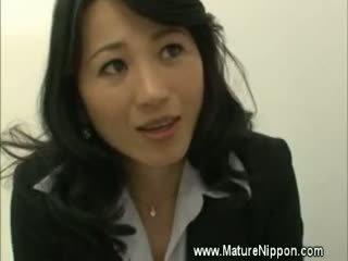 MILF Mature Asian Spoils Student