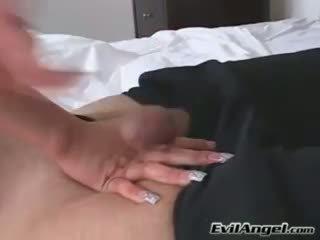 Пеніс loving краля alexis breeze plugs її рот з a масивний errect пеніс