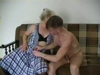 Sexy nonna lena e alex