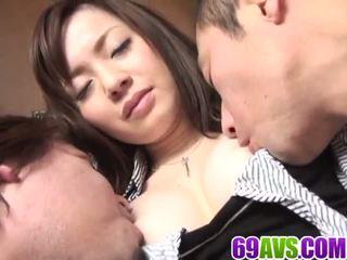 Mika Hukunaga House Wife Fucked in Dirty Threesome: Porn db