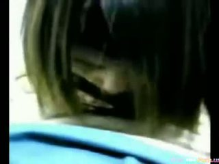 Asian Chick Giving Head