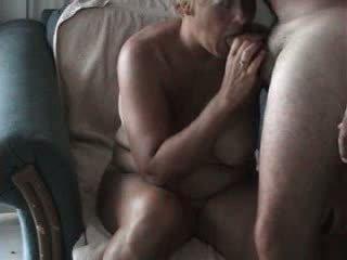 Mature Wife Sucks
