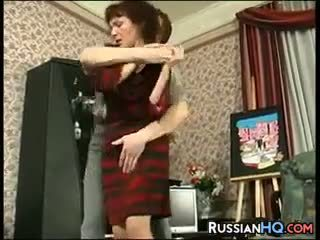 Diwasa russian fucked by a young guy