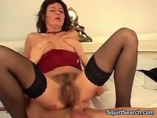 squirting, mature, hardcore, hairy