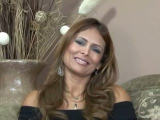 Hot interview with nasty milf Monique Fuentes