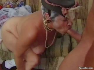 Granny vs Young Man: Granny Young Porn Video fc
