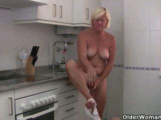 Sabine 集: 自由 旧的 女人 有趣 高清晰度 色情 视频 0c