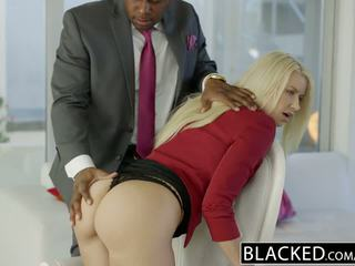 Blacked business ginintuan ang buhok anikka albrite puwit fucked by a bbc