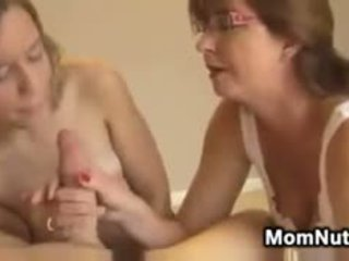 hottest brunette hottest, blowjob most, see threesome