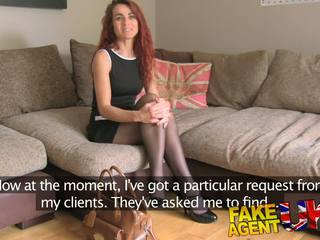 FakeAgentUK Agent has Intense bondage session with MILF in POV casting