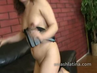 Latina pussy pounded hard while she gets used and treated like trash