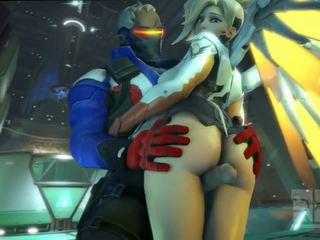 Mercy w overwatch mieć seks