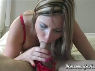 Cum On Her Sexy Red Panties