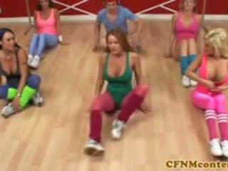 Cfnm femdoms cepet jago at aerobics