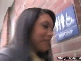 Rhianna Ryan at a Gloryhole